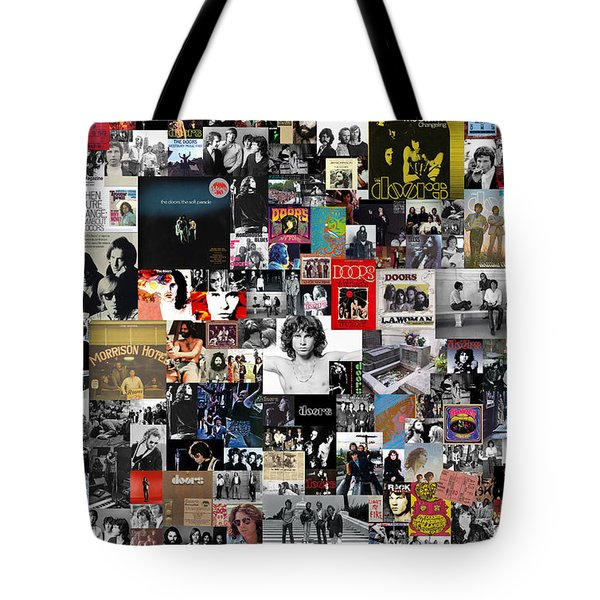 The Doors Collage Tote Bag