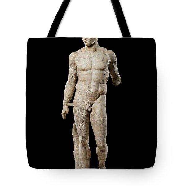 The Doryphoros Of Polykleitos Tote Bag