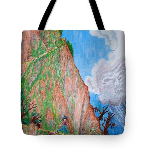 The Downward Path Tote Bag by Matt Konar