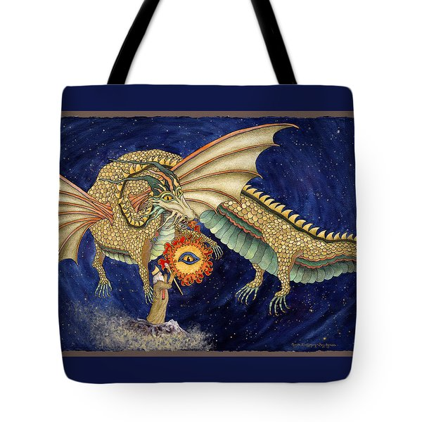 The Dragon King Tote Bag