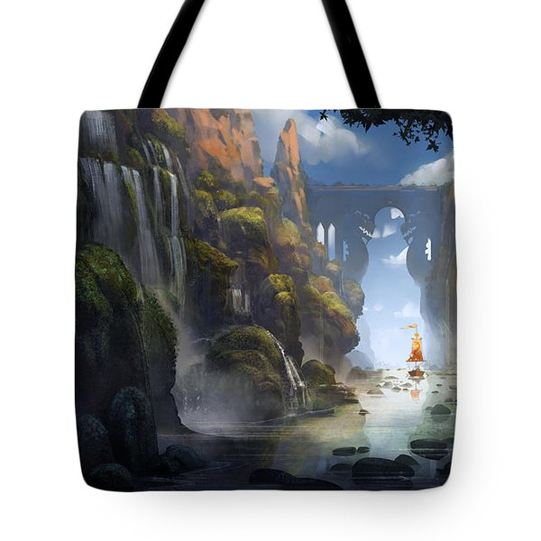 The Dragon Land Tote Bag