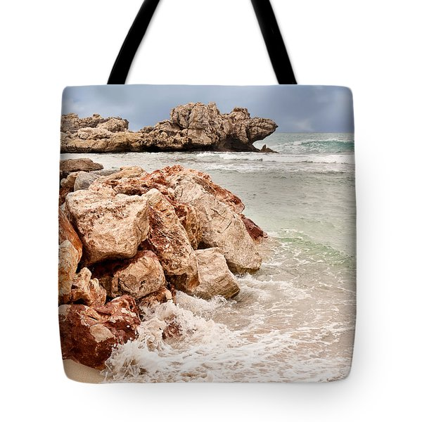 The Dragon Of Labadee Tote Bag