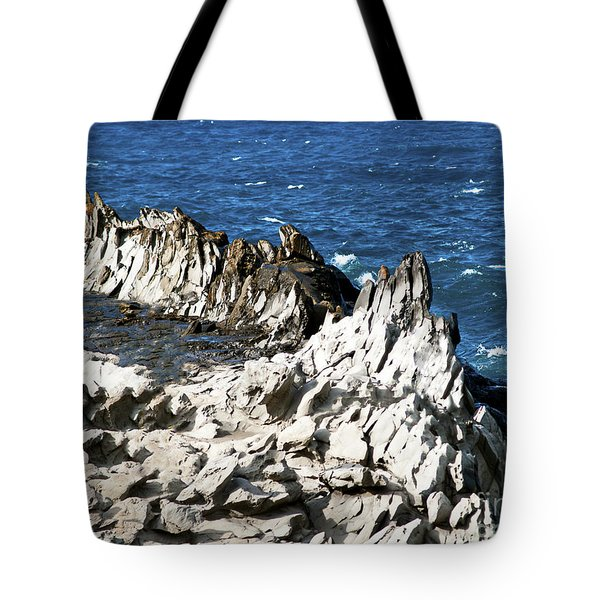 The Dragons Teeth I Tote Bag by Patricia Griffin Brett