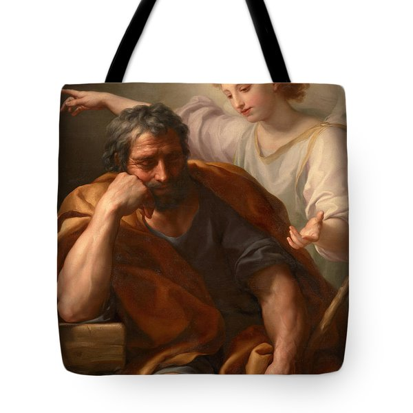 The Dream Of St Joseph Tote Bag