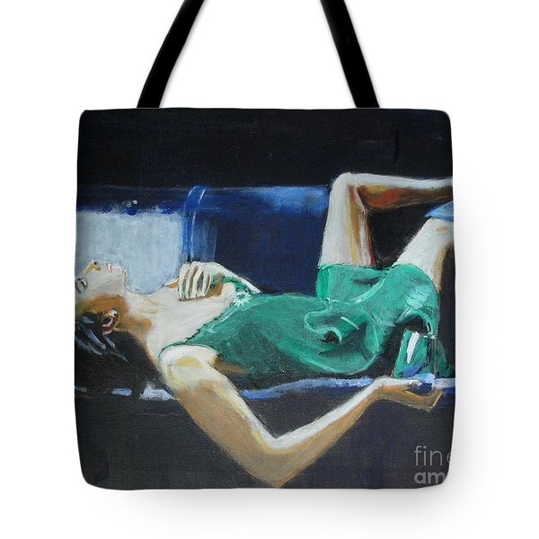 The Dreamer Tote Bag by Judy Kay