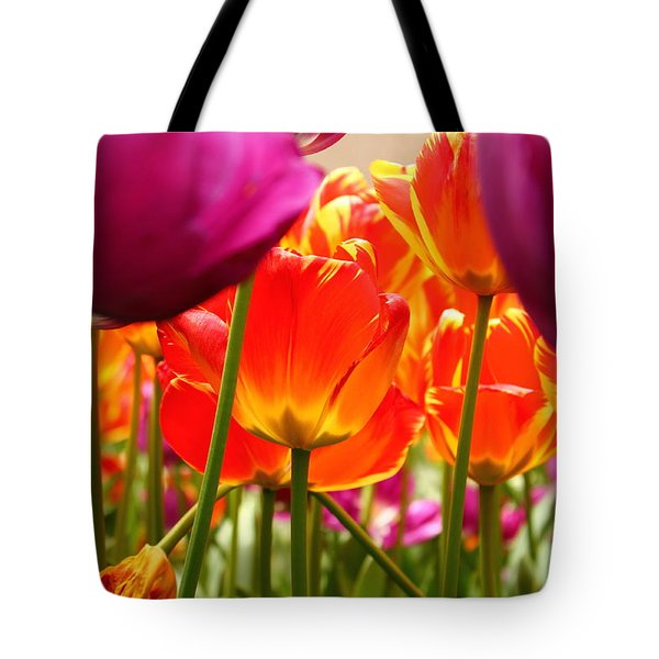 The Drooping Tulip Tote Bag