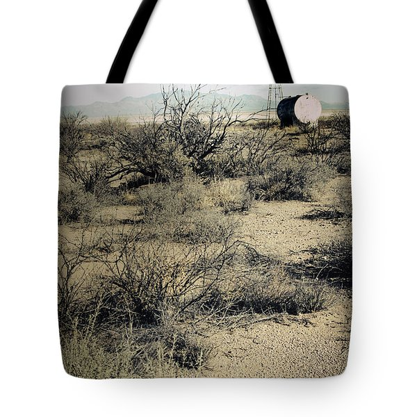 The Dry Lands Of Arizona Tote Bag