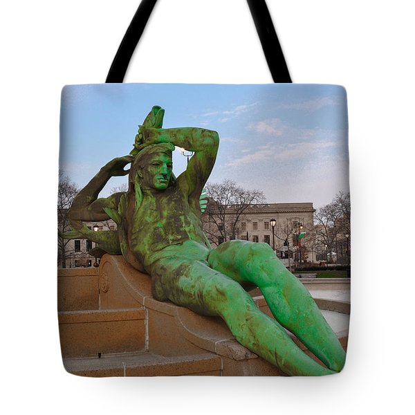 The Dry Season Tote Bag by Bill Cannon