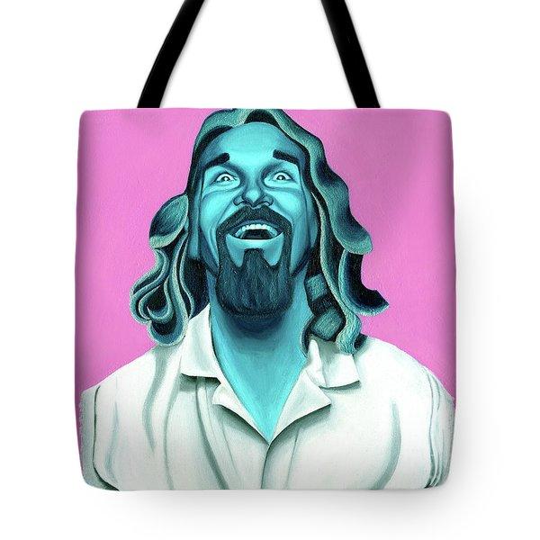 The Dude Tote Bag by Ellen Patton