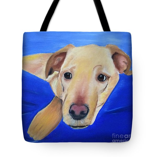 The Duke - Pet Portrait Tote Bag