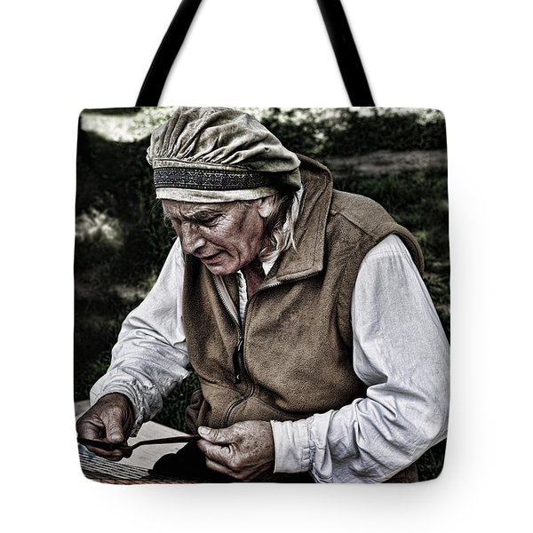 The Dulcimer Man Tote Bag