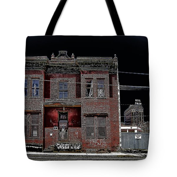 The Dumas Brothel - Butte Montana Tote Bag by Daniel Hagerman