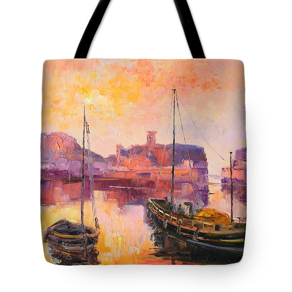 The Dunbar Harbour Tote Bag