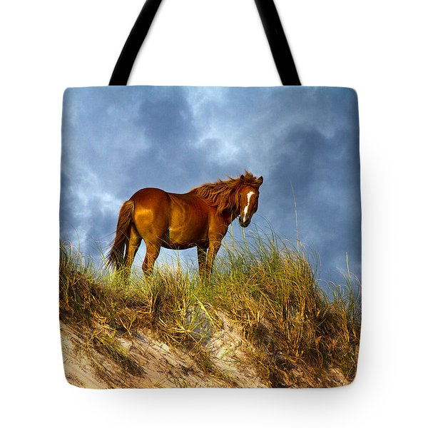 The Dune King Tote Bag