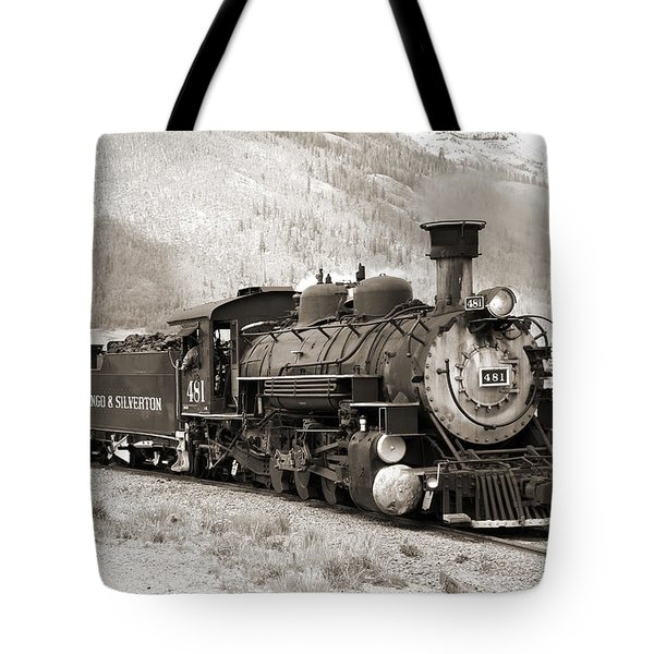 The Durango And Silverton Tote Bag by Mike McGlothlen