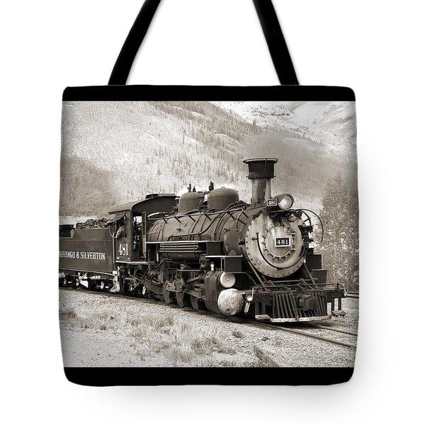 The Durango And Silverton Tote Bag