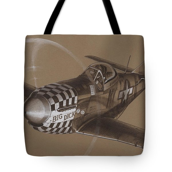 The Duxford Boys Drawing Tote Bag by Wade Meyers