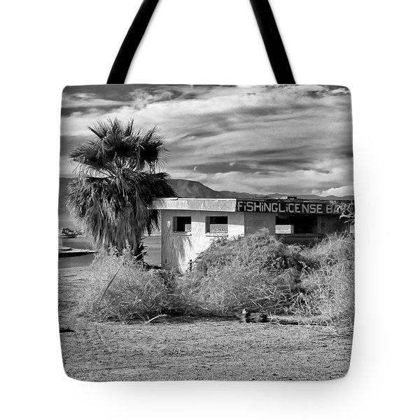 Tote Bag featuring the photograph The Dying Sea by Michael Pickett