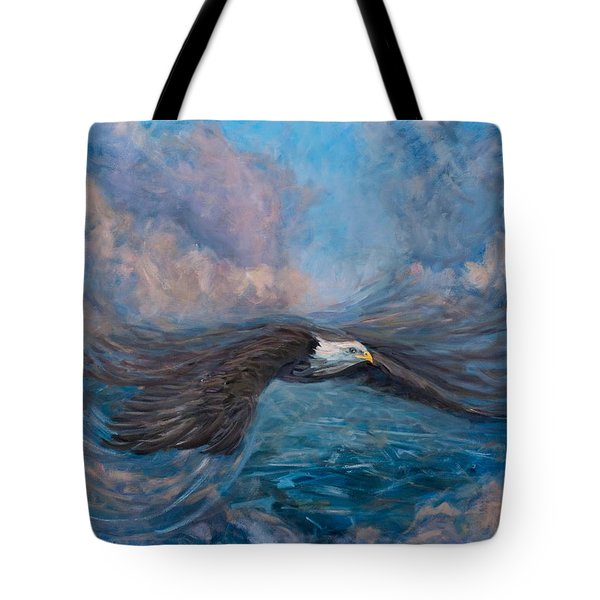 The Dynamic Of Flight Tote Bag by Marco Busoni