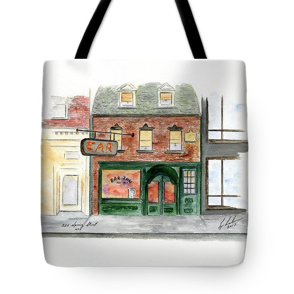 The Ear Inn Tote Bag