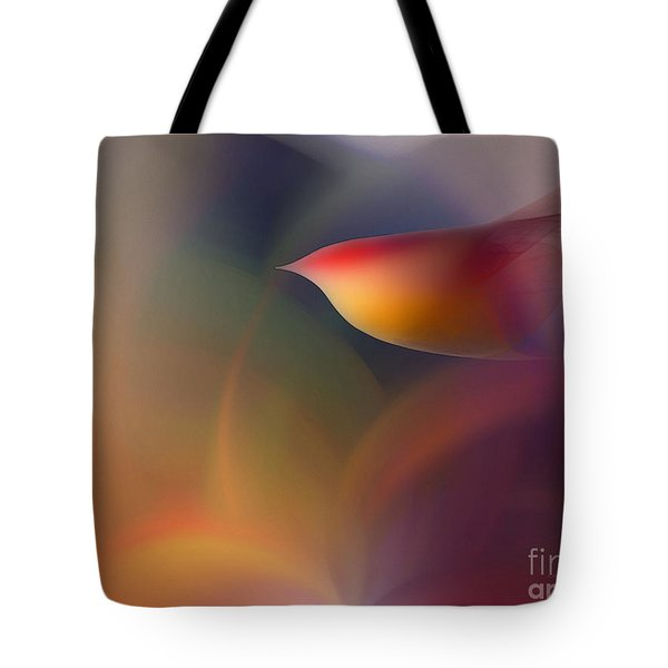 The Early Bird-abstract Art Tote Bag