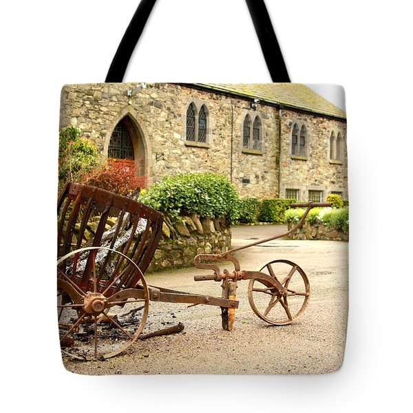 Religion The Easter Candle  Tote Bag by Linsey Williams