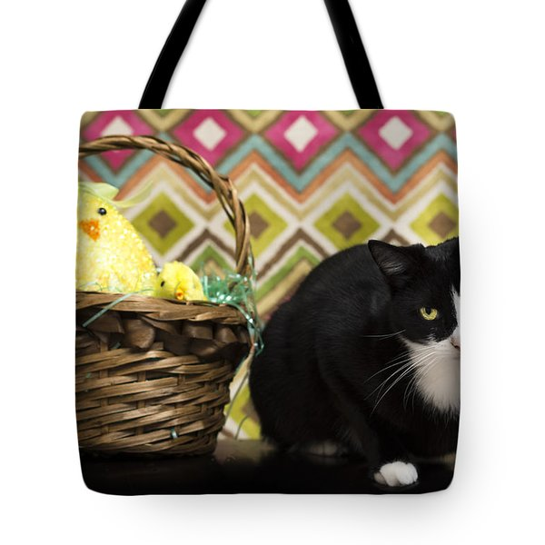 The Easter Tiggy Tote Bag