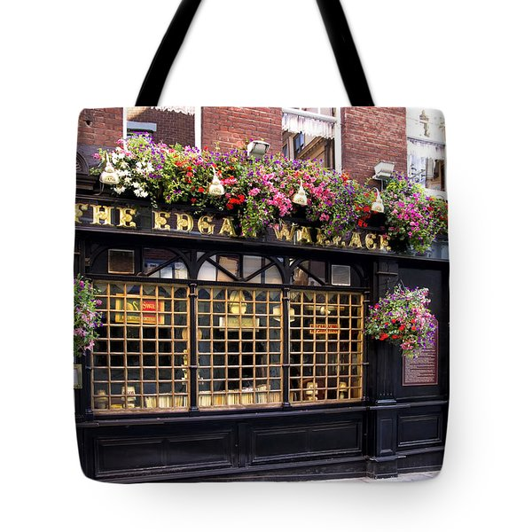 The Edgar Wallace Tote Bag by Shirley Mitchell