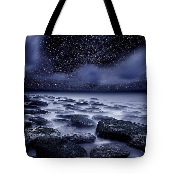 The Edge Of Forever Tote Bag