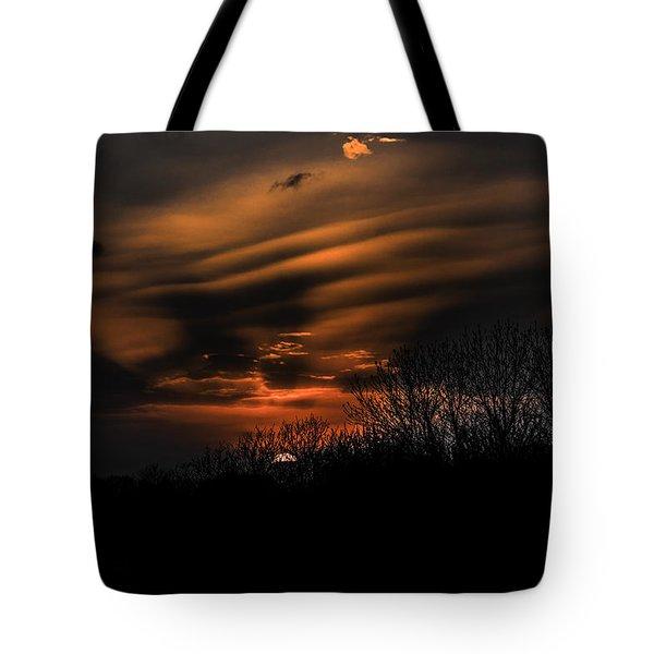 The Edge Of Night Tote Bag