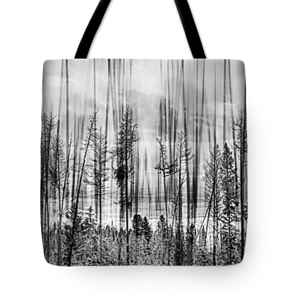 The Edge Of The Clear-cut Tote Bag