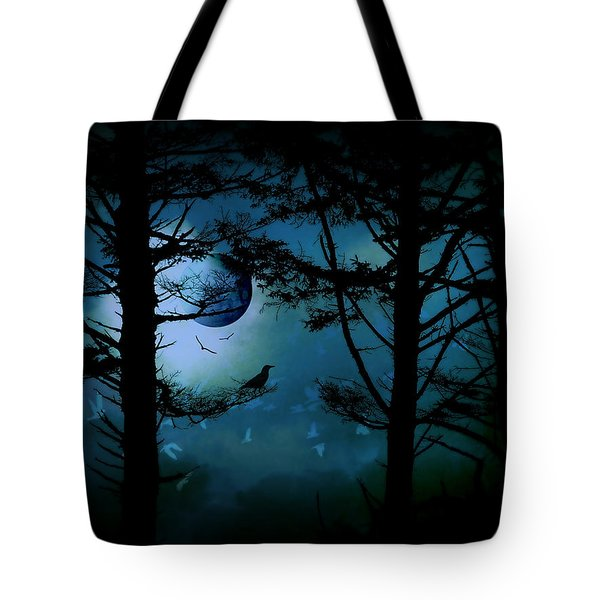 The Edge Of Twilight  Tote Bag by Micki Findlay