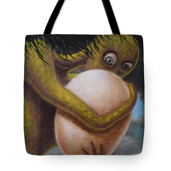 The Egg Of Charlie Watts Tote Bag by Genio GgXpress