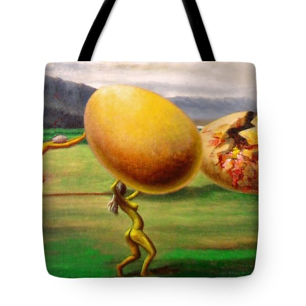 The Egg Of Keith Richards Tote Bag by Genio GgXpress