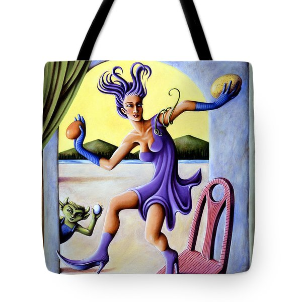 The Egg Show Tote Bag