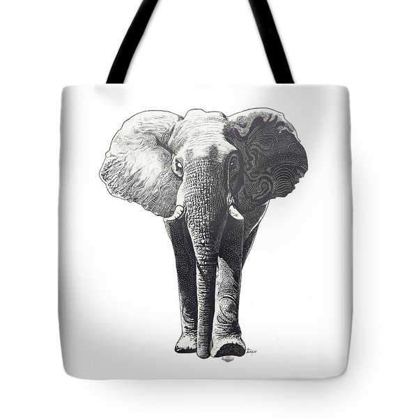 The Elephant Tote Bag by Kean Butterfield