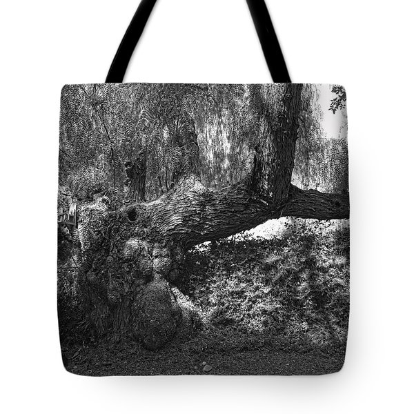 The Elephant Tree Tote Bag