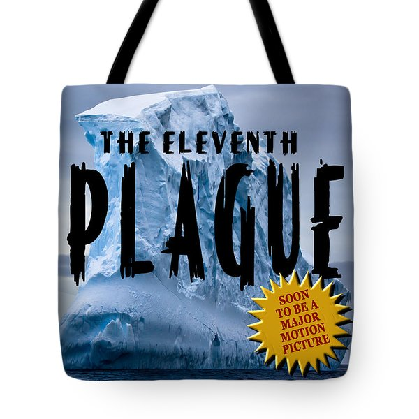 The Eleventh Plague Bookcover Tote Bag by Mike Nellums