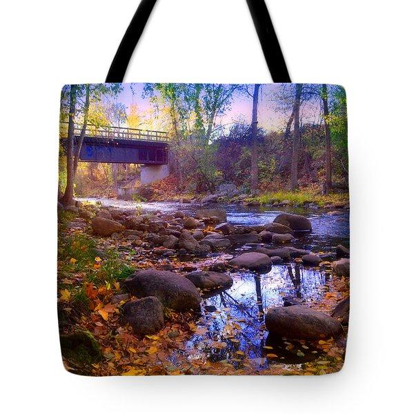 The Ellis Creek Bridge Tote Bag