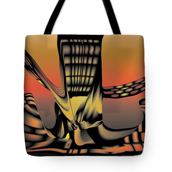 The Ember Tree Tote Bag