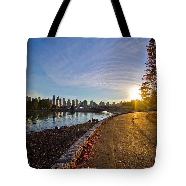 Tote Bag featuring the photograph The Emerald City by Eti Reid