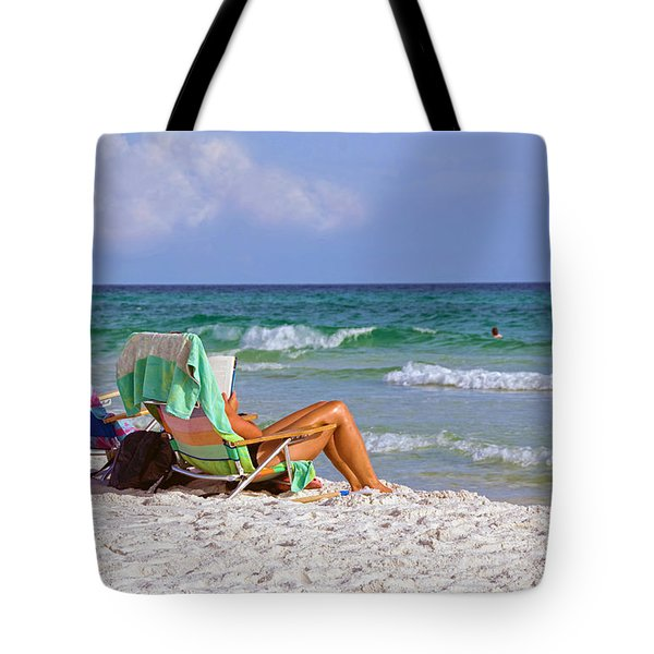 The Emerald Coast Tote Bag