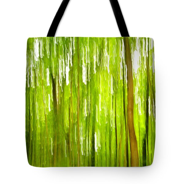 The Emerald Forest Tote Bag by Bill Gallagher