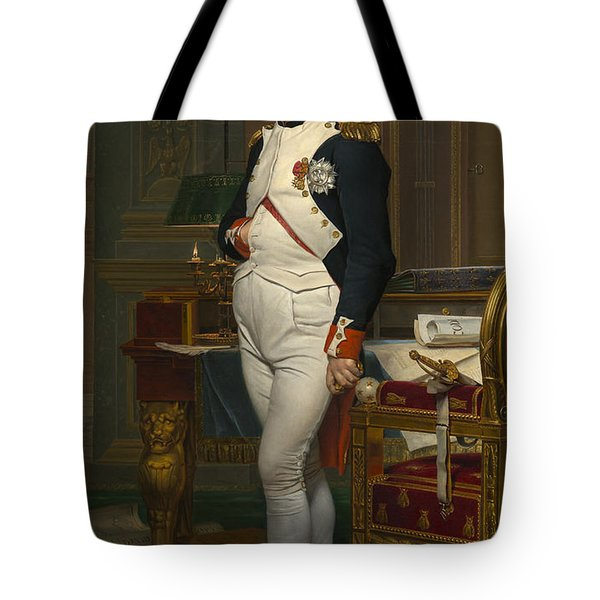 The Emperor Napoleon In His Study Tote Bag by Mountain Dreams