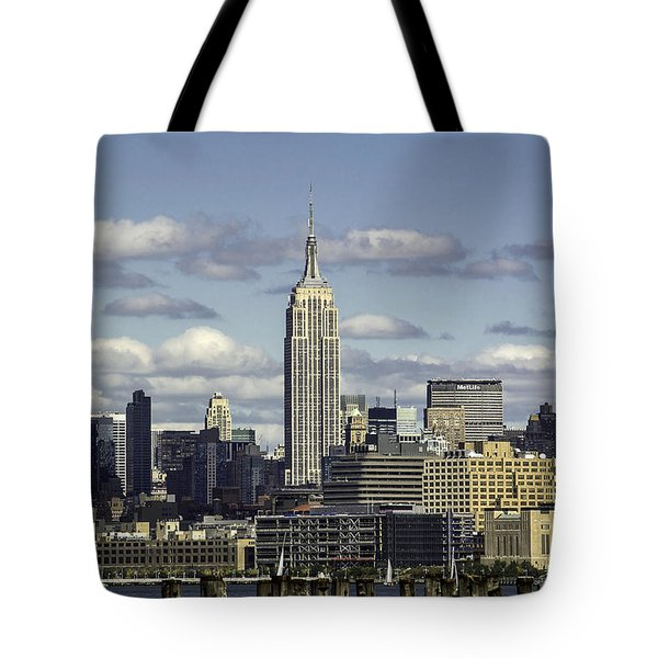 The Empire State Building 2 Tote Bag