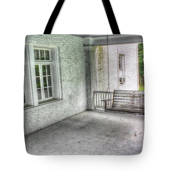 The Empty Porch Swing Tote Bag