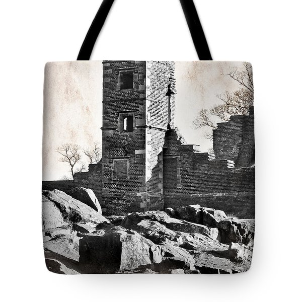 The Empty Tower Tote Bag by Linsey Williams