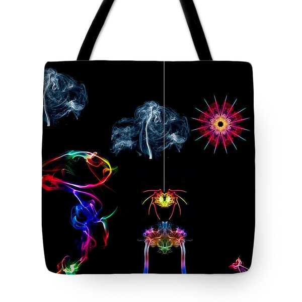 The Enchanted Smoke Spider Tote Bag by Steve Purnell