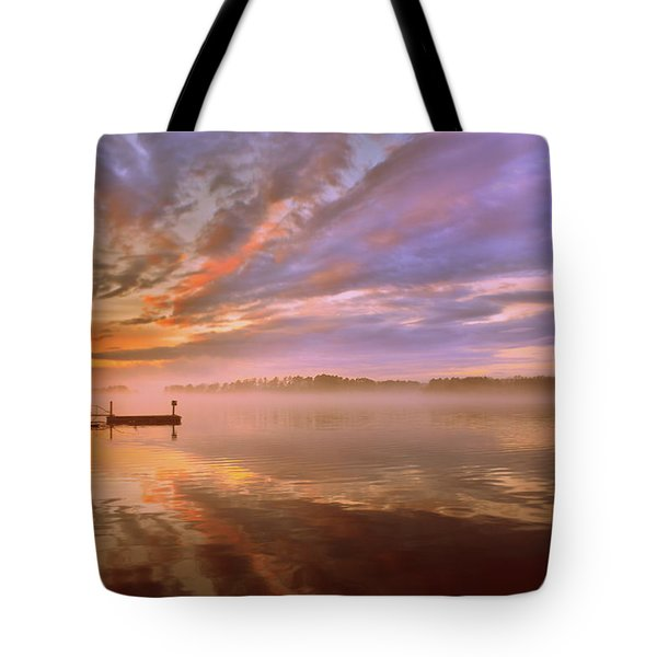 Tote Bag featuring the photograph The End by Lisa Wooten