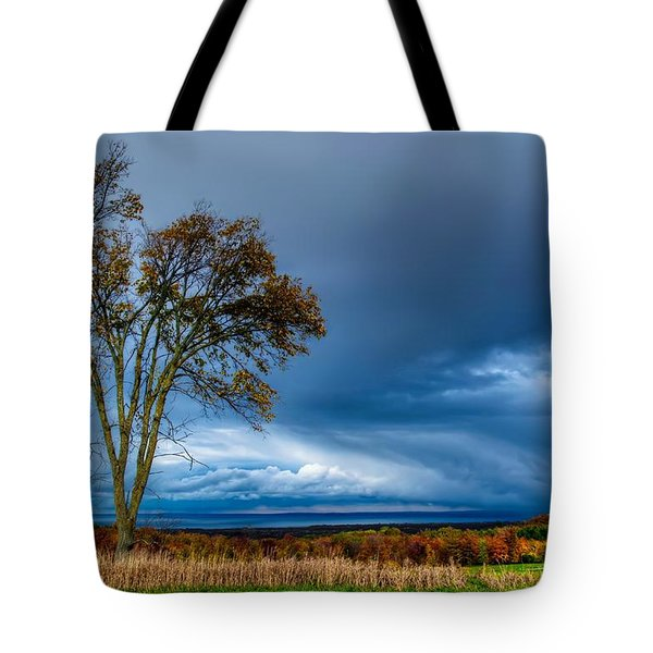 The End Of A Rainy Day Tote Bag